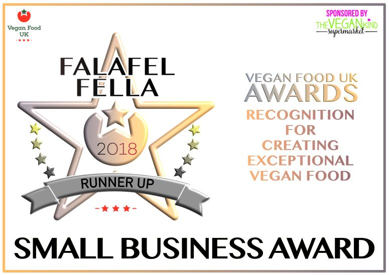 Falafel Fella Small Business Award Runners Up 2018